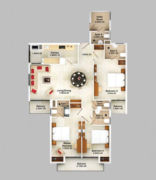 3bhk-apartment-in-goa-garden-view-floor-plan-2d