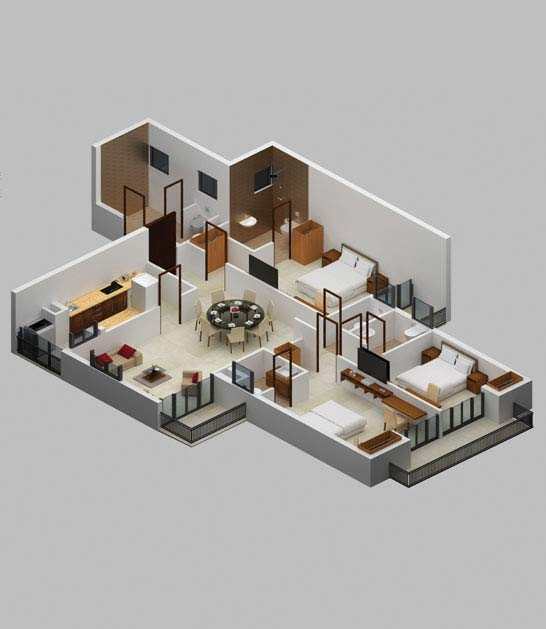 3bhk-apartment-in-goa-garden-view-floor-plan-3d