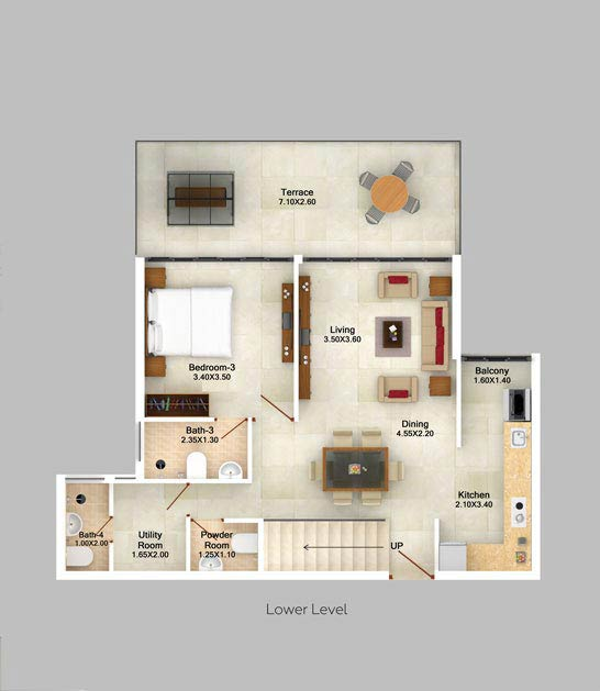 3bhk-duplex-moutain-view-floor-plan-2d-lower-level