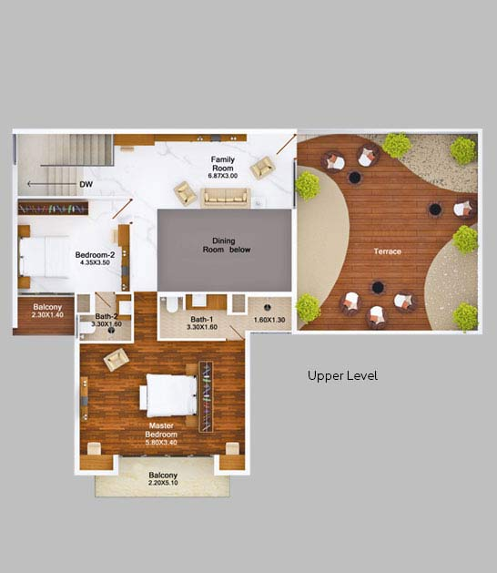 4bhk-skyvilla-garden-view-floor-plan-2d-upper-level