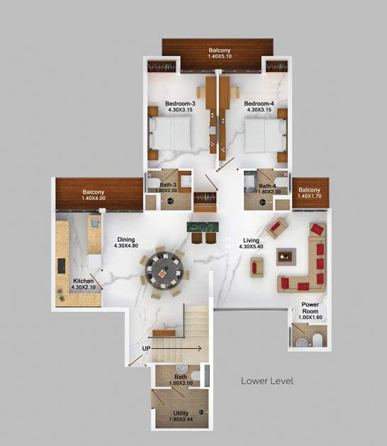 4bhk-skyvilla-mountain-view-floor-plan-2d-lower-level